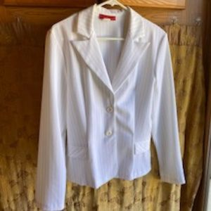 VINTAGE ALYN PAIGE WHITE PINSTRIPED SIZE 11/13
